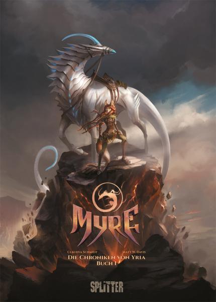 Myre-Comics von Alector Fencer in der richtigen Reihenfolge