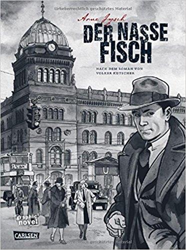 """Rezension zu der Graphic Novel """"Der nasse Fisch"""" von Arne Jysch"""