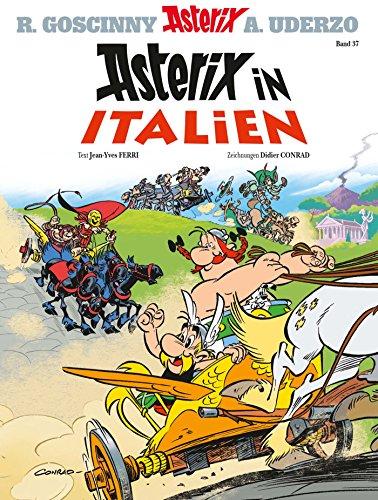 Asterix-Comics in der richtigen Reihenfolge