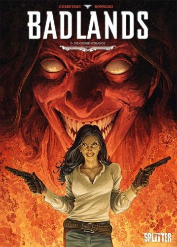 Die Comicreihe Badlands von Eric Corbeyran in der richtigen Reihenfolge