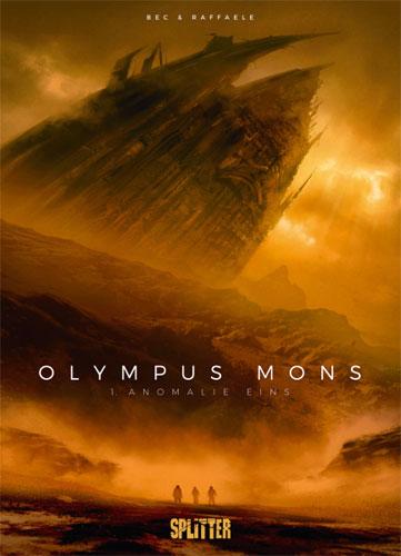 Olympus Mons-Comics von Christophe Bec in der richtigen Reihenfolge