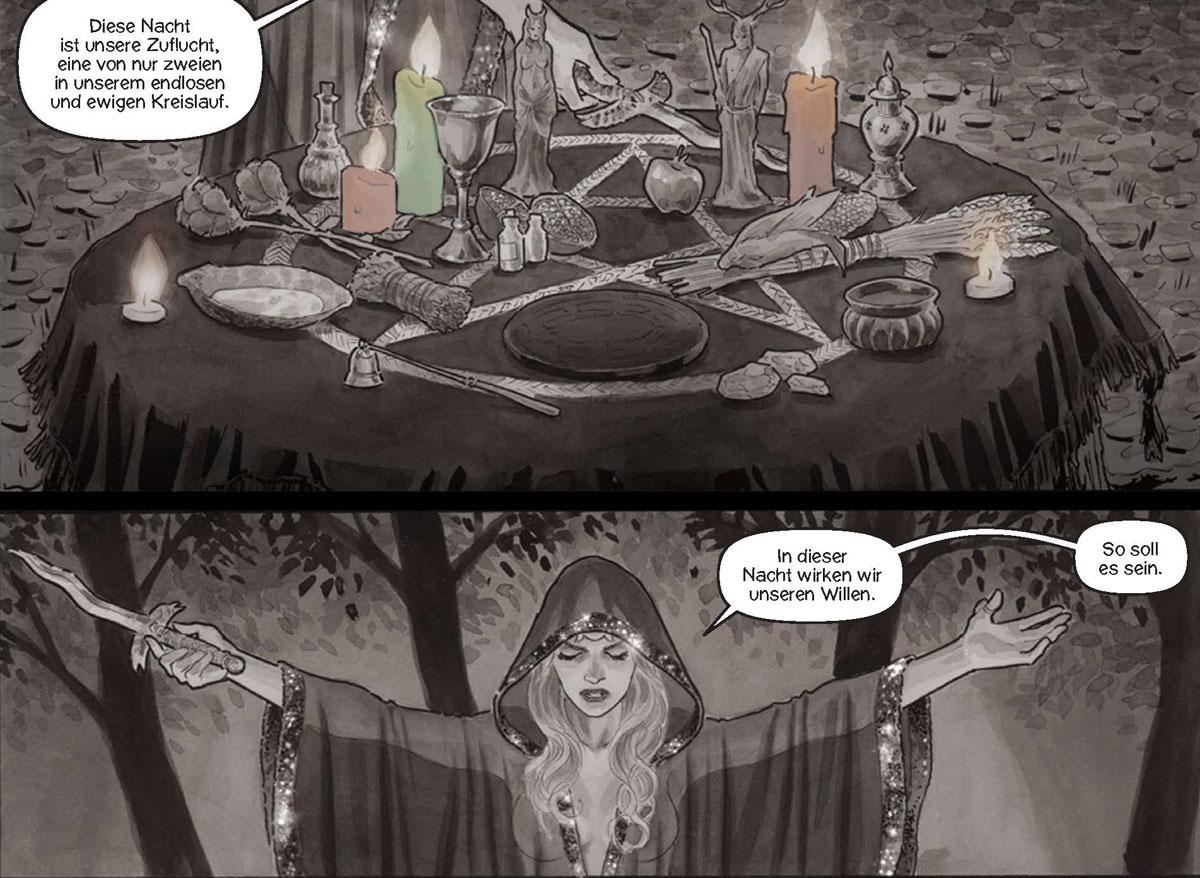 Comic: Black Magick 1 - Das Erwachen