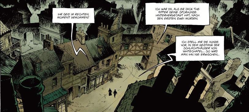 Der Comic Jack the Ripper