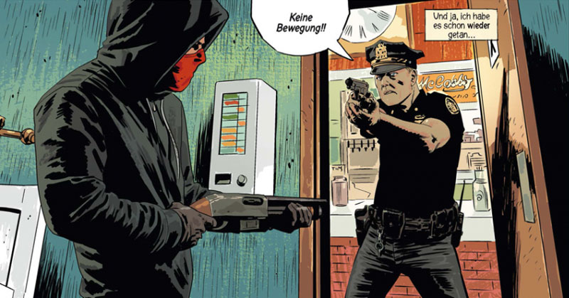 "Comic ""Kill or be killed 2"" von Ed Brubaker"