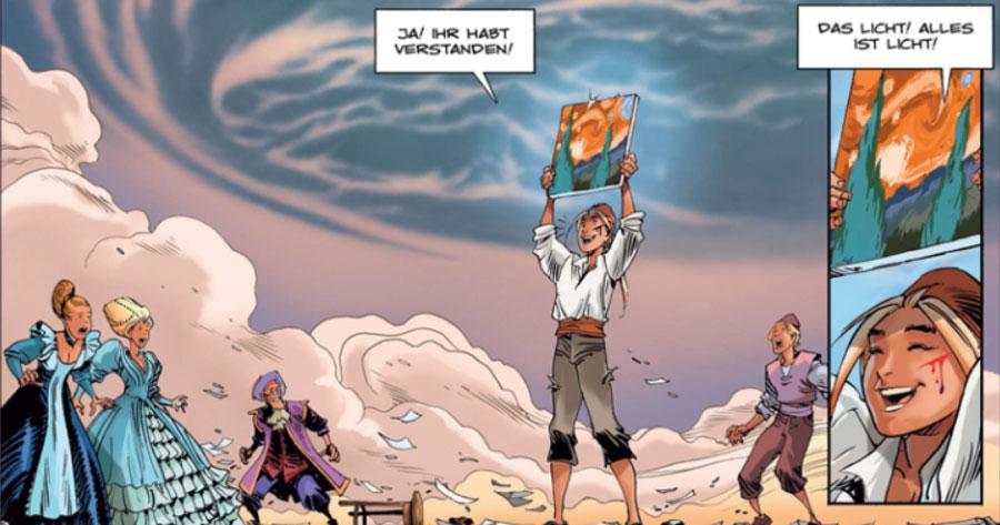 Comic - Sangre 2: Fesollgio, der Unerbittliche