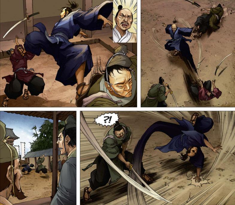 Der Comic Schatten der Shinobi
