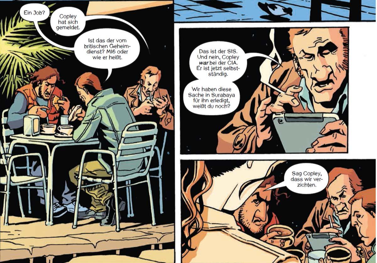 Comic: The Old Guard 1: Erstes Gefecht von Greg Rucka