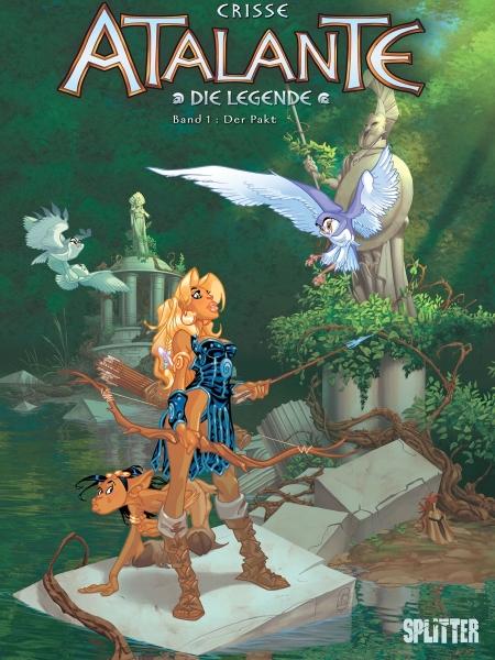 Atalante-Comics von Crisse in der richtigen Reihenfolge