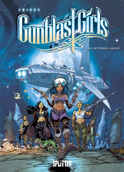 Gunblast Girls-Comics von Crisse in der richtigen Reihenfolge