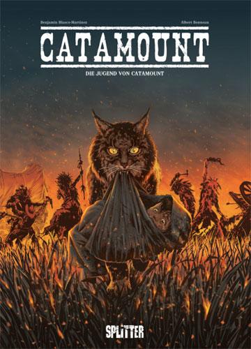 Die Comic-Serie Catamount von Benjamin Blasco-Martinez in der richtigen Reihenfolge