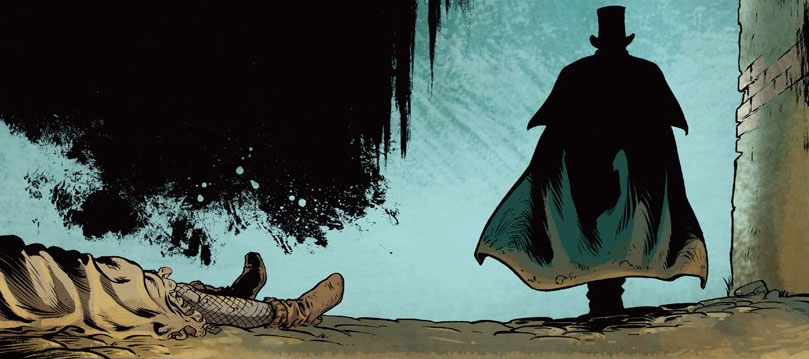 Szene aus Jack the Ripper von Francois Debois