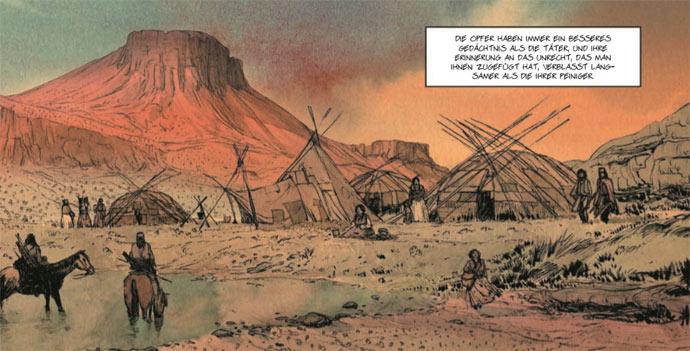 Szene aus Geronimo von Matz und Jef