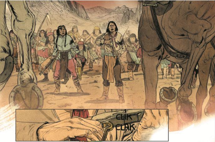 Der Comic Geronimo von Matz und Jef