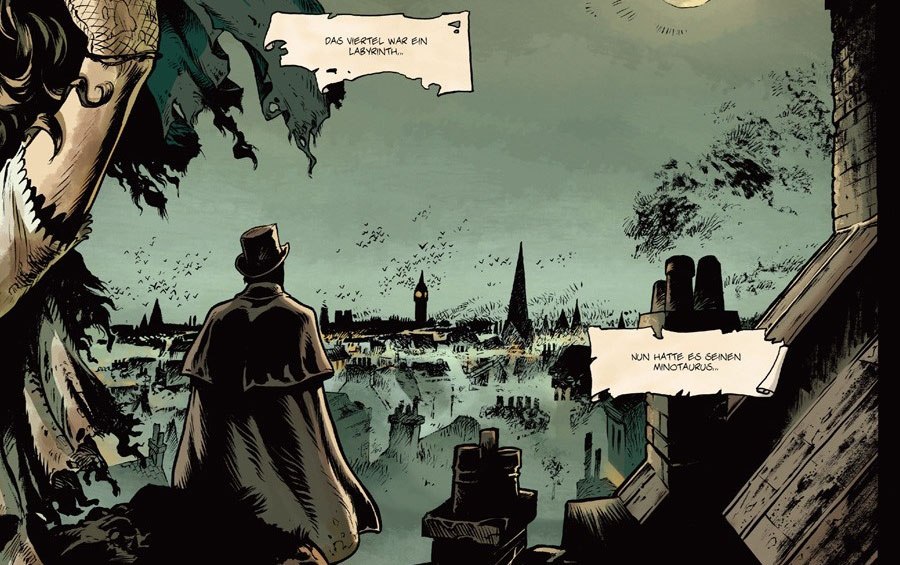 Graphic Novel - Jack the Ripper