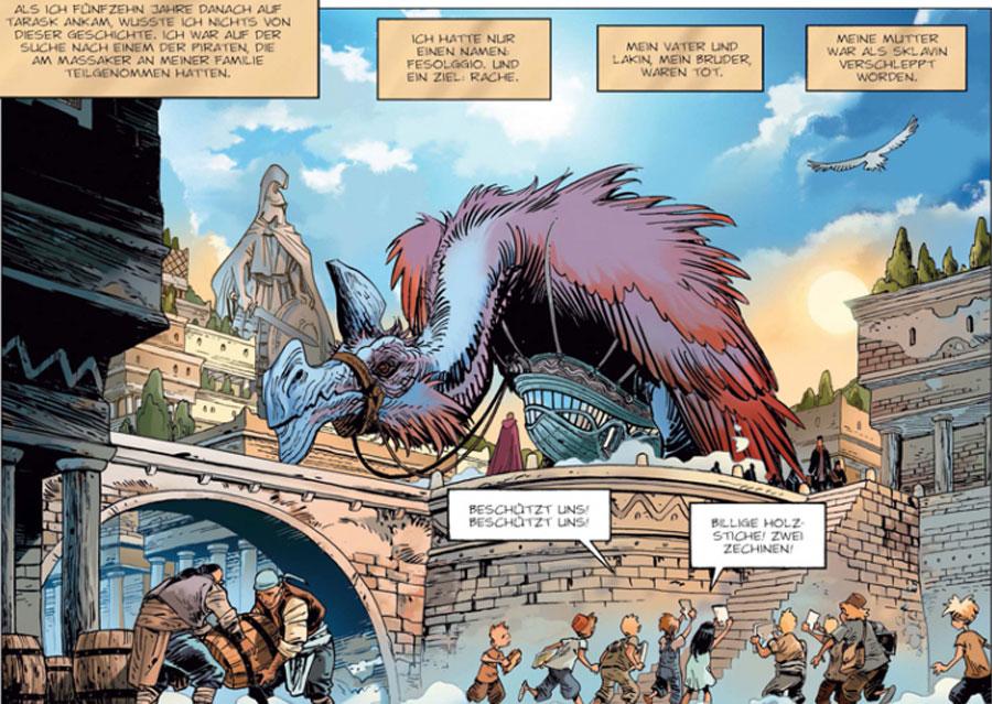 Graphic Novel - Sangre 2: Fesollgio, der Unerbittliche