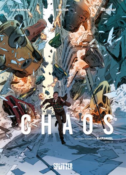 Chaos-Comicserie von Jean-David Morvan in der richtigen Reihenfolge