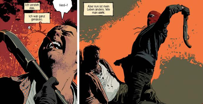 Szene aus der Graphic Novel Kill or Be Killed
