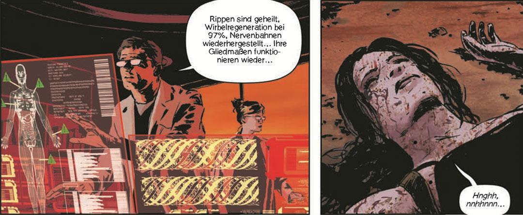 Szene aus der Graphic,Novel Lazarus #1