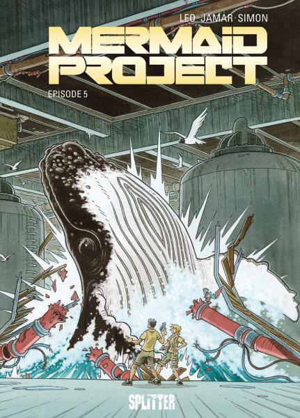 Mermaid Project-Comics von Leo in der richtigen Reihenfolge