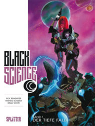 Die Comics Black Science von Rick Remender