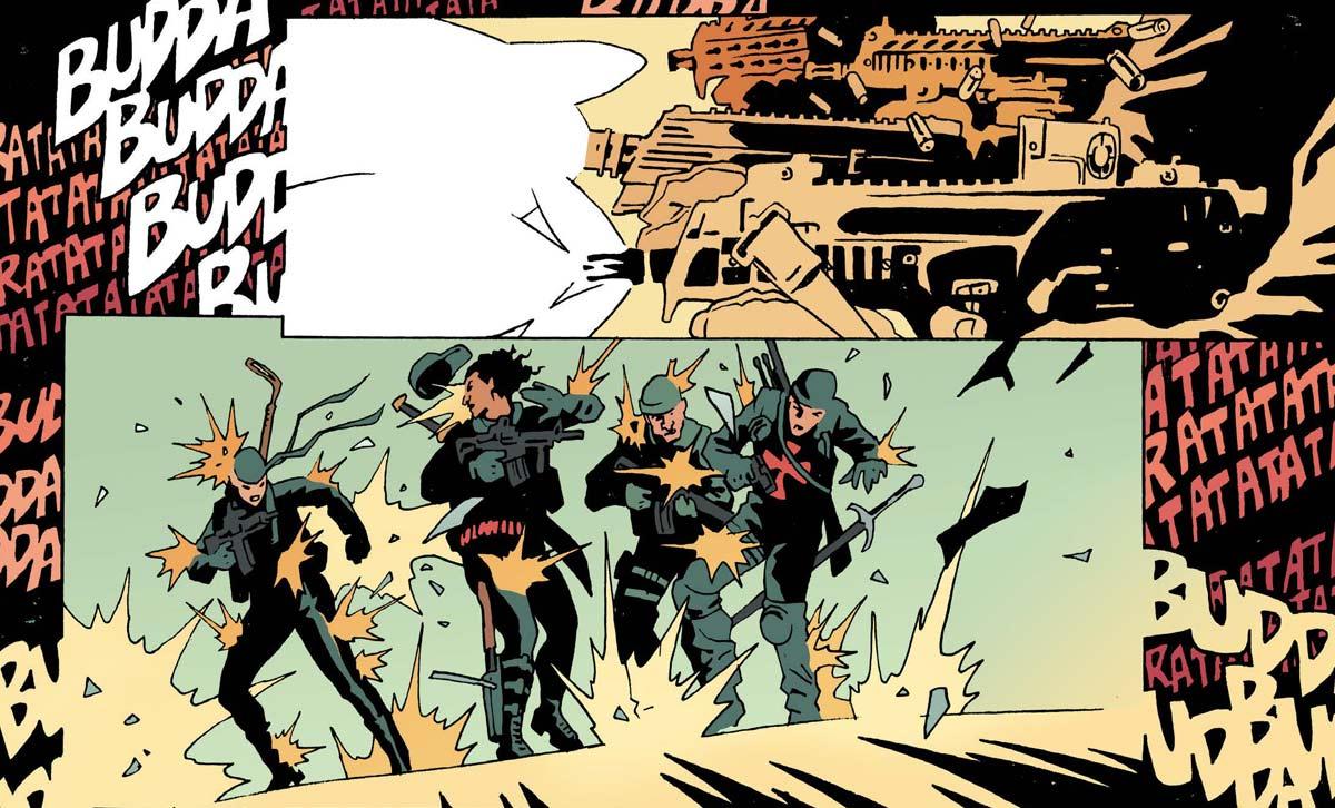 Rucka: Graphic Novel The Old Guard 1