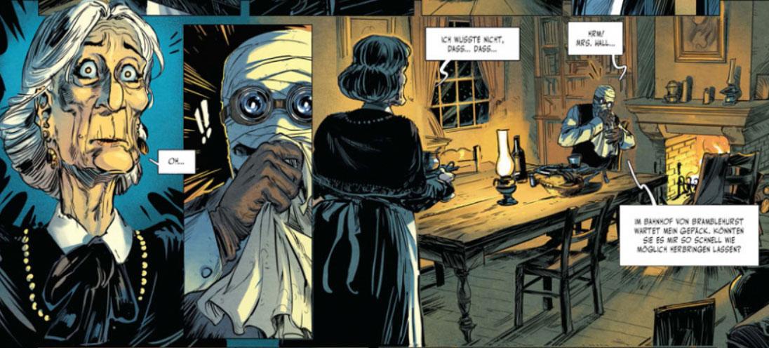 Szene aus dem Comic Der Unsichtbare 1