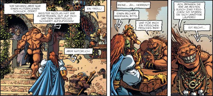 Ritter Blaugold und Troll Hebus