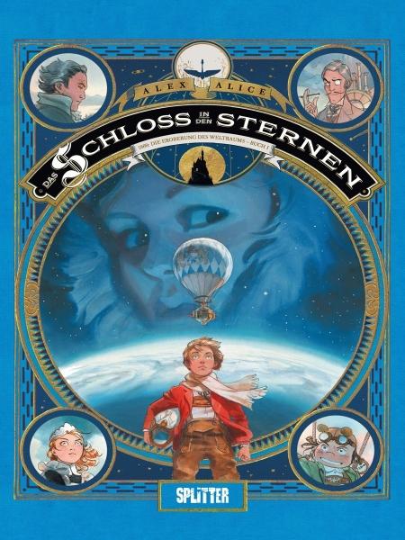Das Schloss in den Sternen-Comics von Alex Alice in der richtigen Reihenfolge