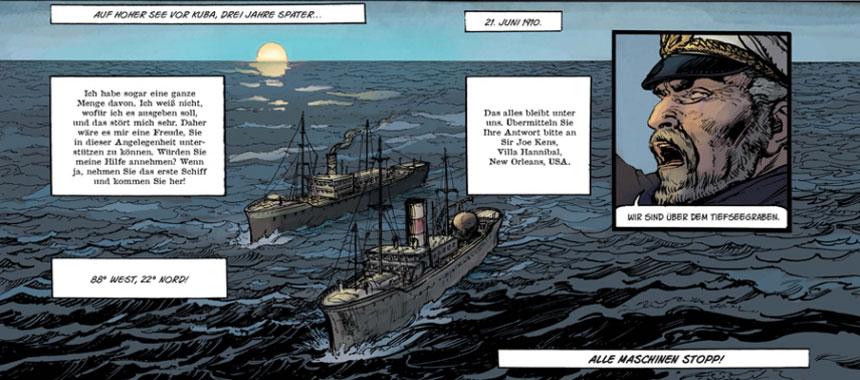 Comic - Fulgur 1: Am Boden des Abgrunds von Christophe Bec