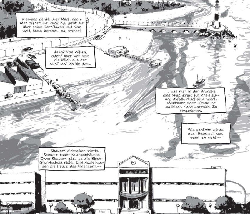 Szene aus dem Comic I Kill Giants von Joe Kelly