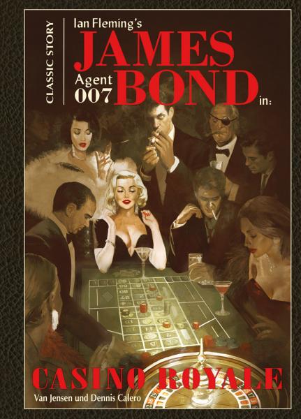 Die James Bond Classics von Van Jensen in der richtigen Reihenfolge