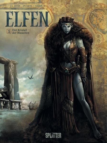 """Die Comicreihe """"Elfen"""" in der richtigen Reihenfolge"""