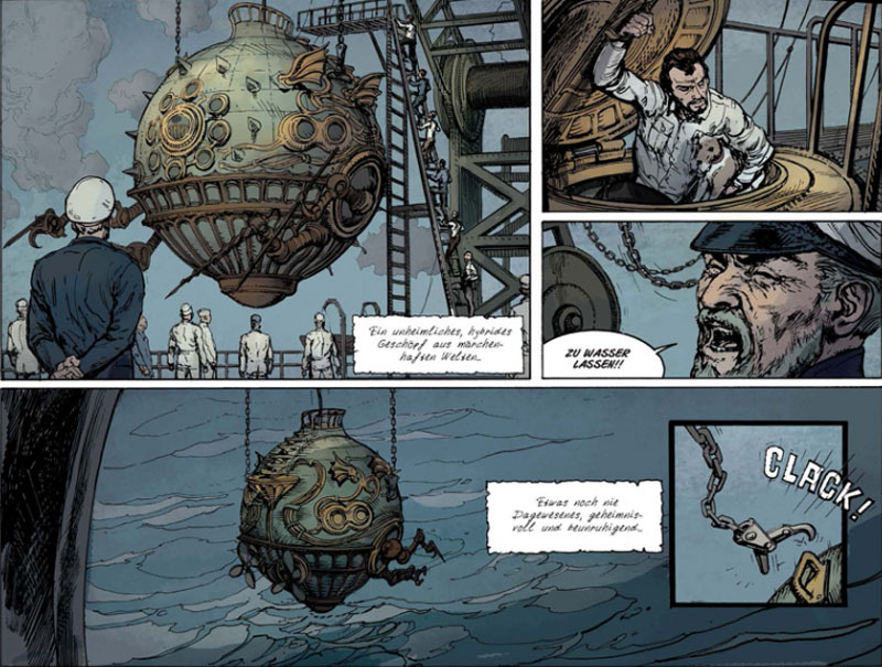Graphic Novel - Fulgur - Am Boden des Abgrunds