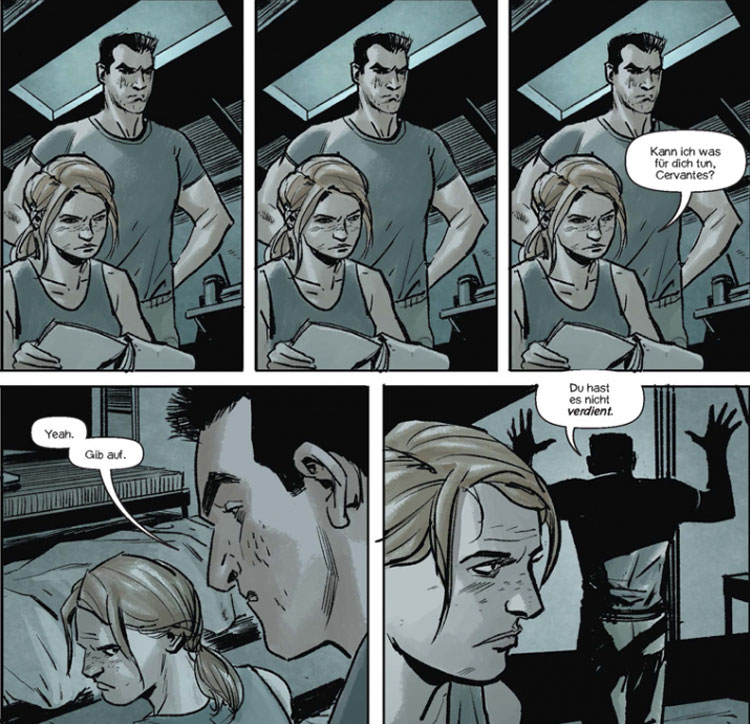 Szene aus der Graphic Novel Lazarus X+66