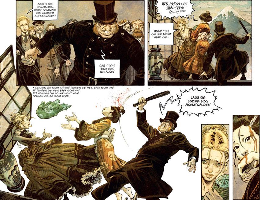 Szene aus der Graphic Novel Shi 1 - Am Anfang war die Wut