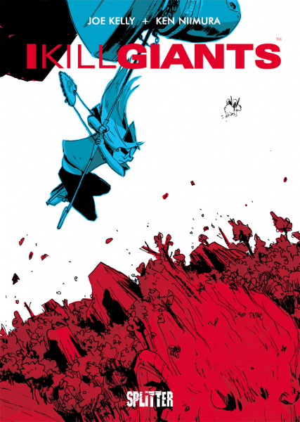 Rezension zu der Graphic Novel I Kill Giants von Joe Kelly