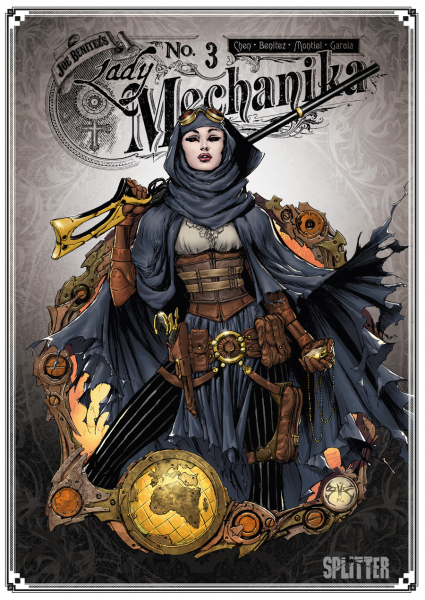 """Rezension zum Comic Lady Mechanika #3 """"Die Schicksalstafel"""" von Joe Benitez"""