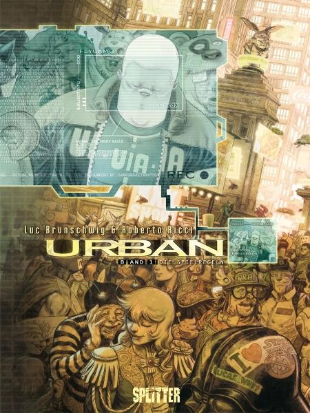 Urban-Comics von Luc Brunschwig in der richtigen Reihenfolge