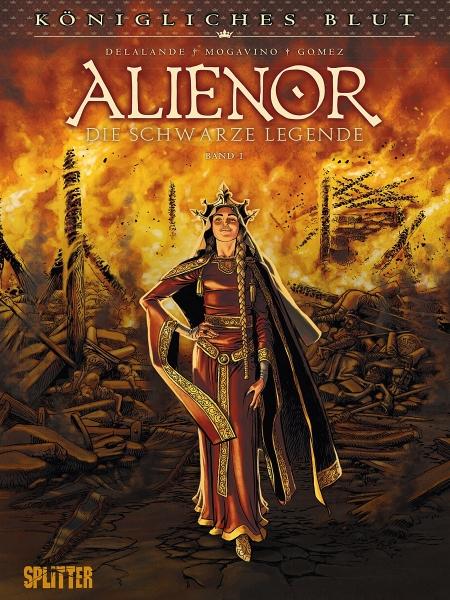 Königliches Blut: Alienor-Comics in der richtigen Reihenfolge