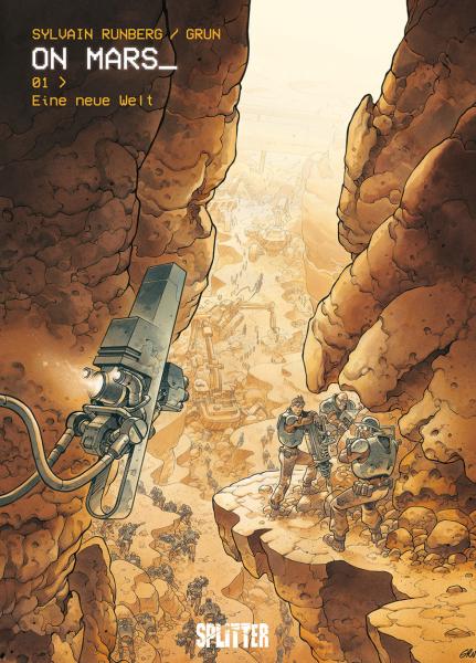 On Mars-Comics von Sylvain Runberg in der richtigen Reihenfolge