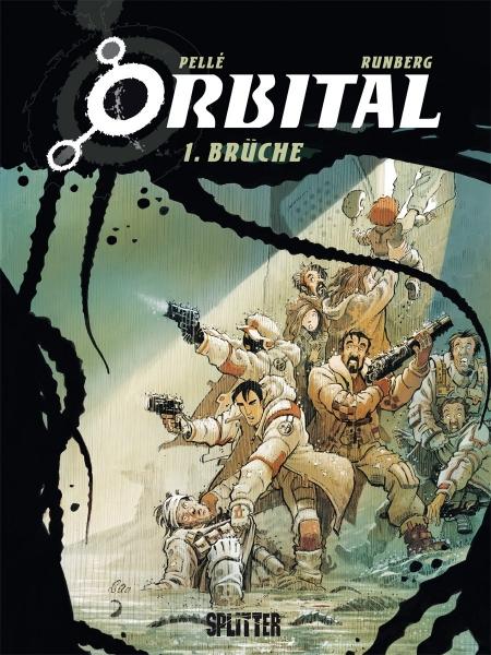 Orbital-Comics von Sylvain Runberg in der richtigen Reihenfolge