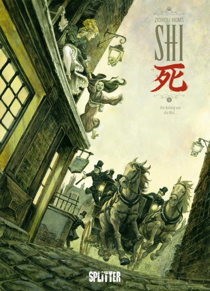 Die Shi-Comics von Zidrou & Homs in der richtigen Reihenfolge