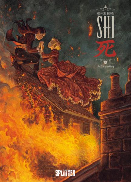 Rezension zu dem Comic SHI 2: Der Dämonenkönig vonZidrou und Homs
