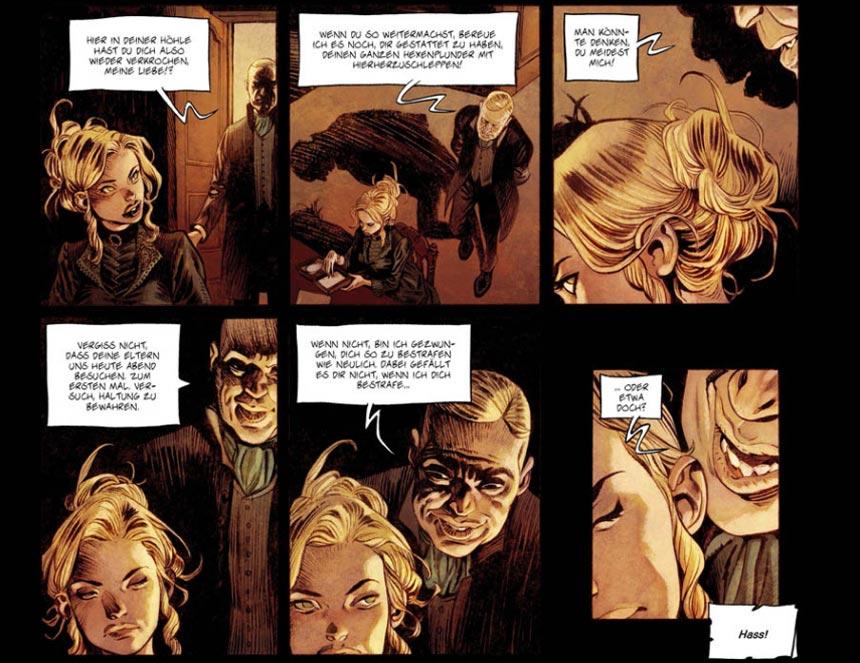 Szene mit Jennifer aus dem Comic SHI 2