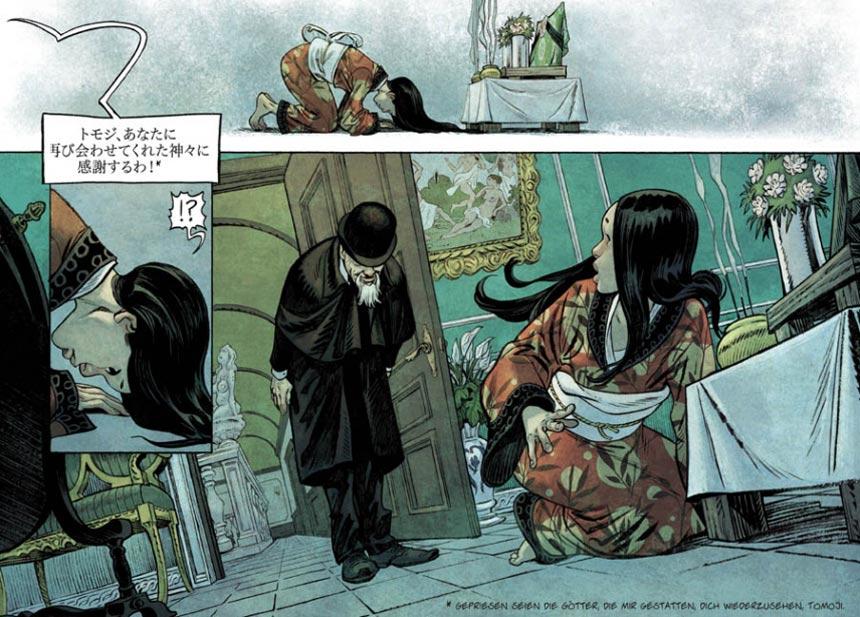 Szene mit Kita aus der Graphic Novel SHI 2