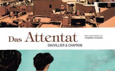 """Rezension zur Graphic Novel """"Das Attentat"""" von Dauvillier und Chapron"""