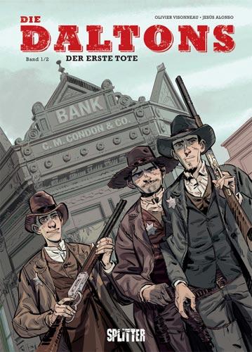 Die Daltons-Comics von Olivier Visonneau in der richtigen Reihenfolge