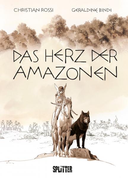 """Rezension zu der Graphic Novel """"Das Herz der Amazonen"""" von Géraldine Bindi"""