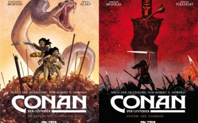 Die Comic-Serie Conan der Cimmerier in der richtigen Reihenfolge