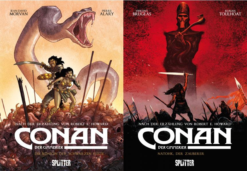 Die Conan-Comics Band 1 und 2